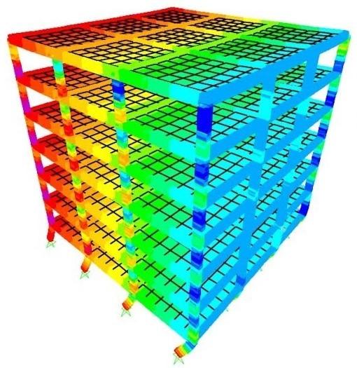 SAP2000 Structural Model